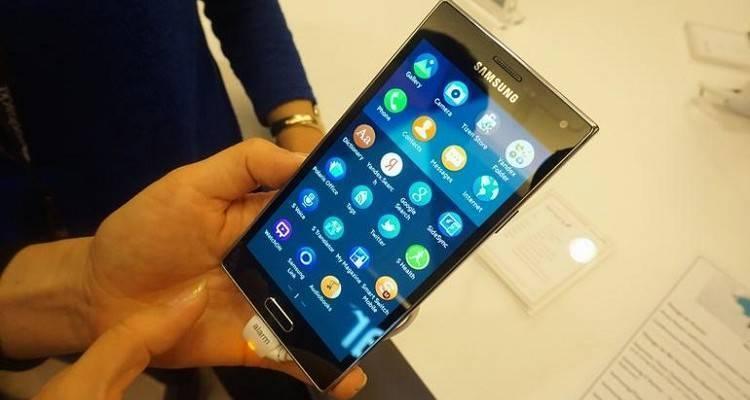 Immagine dal vivo di Samsung Z1 con Tizen