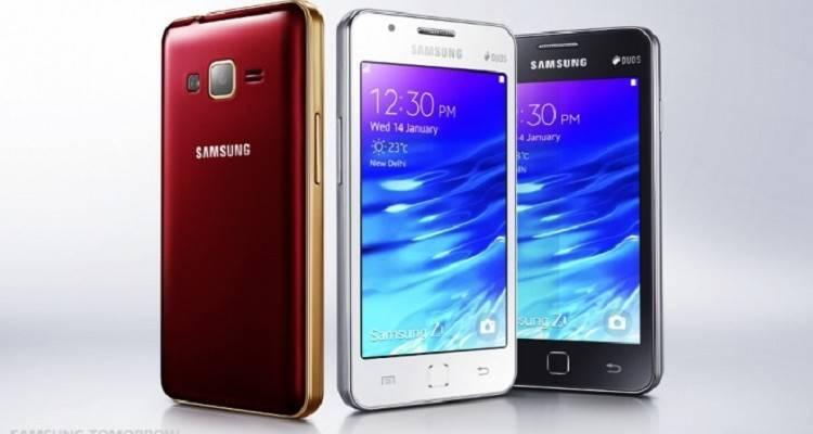 Samsung Z1, primo smartphone Tizen