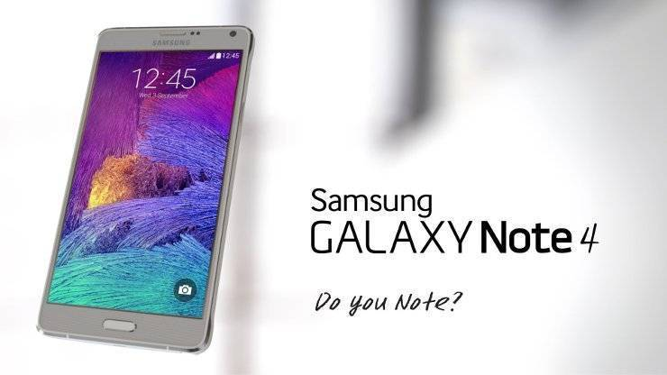Samsung Galaxy Note 4 in offerta a 599 euro da Euronics
