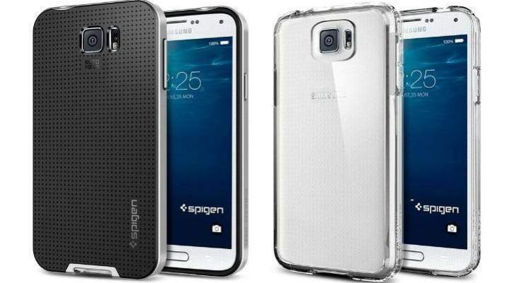Custodie Spigen su Samsung Galaxy S6