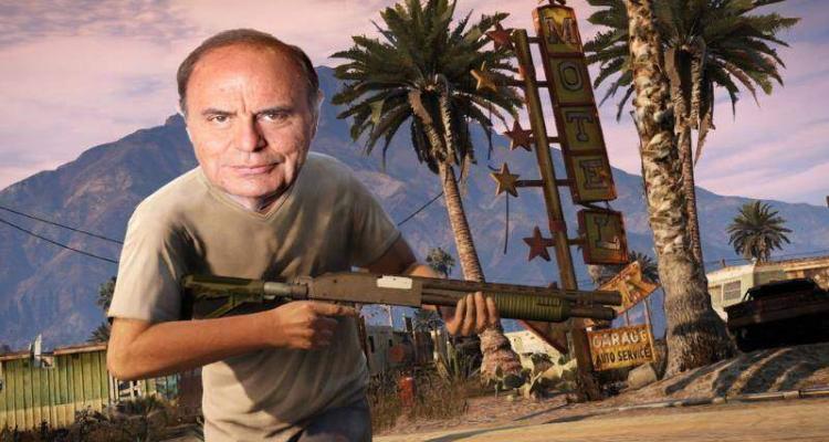 Bruno Vespa protagonista di GTA 5.