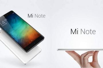 Xiaomi Mi Note, top di gamma per il 2015