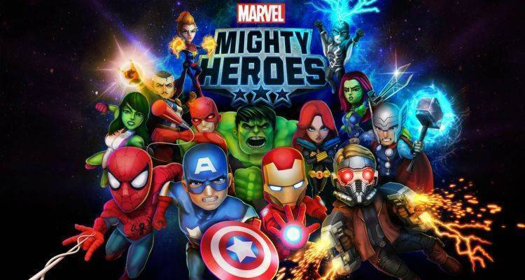 Marvel Mighty Heroes.