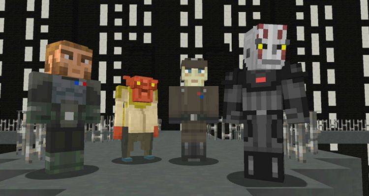 Minecraft: Disponibile lo Star Wars Rebels skin pack su Xbox