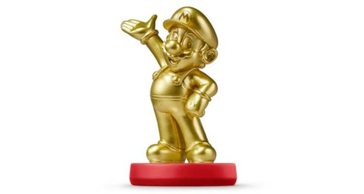 Amiibo di Gold Mario subito sold-out