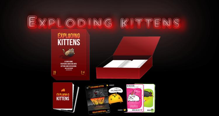 Exploding Kittens: la campagna Kickstarter supera i 5.5 milioni
