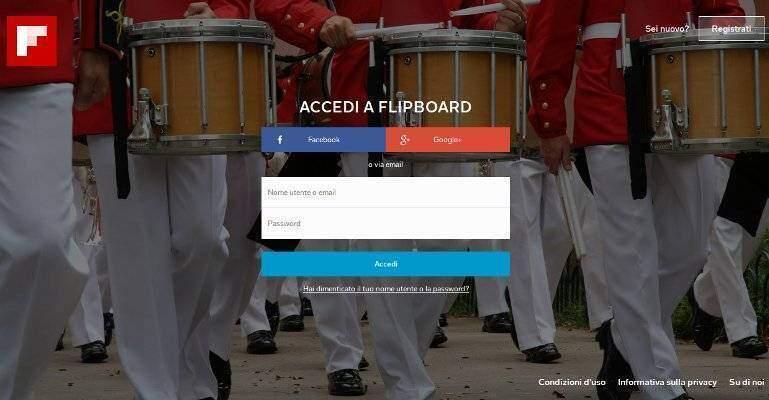 Flipboard: il noto feed reader ora consultabile anche online!