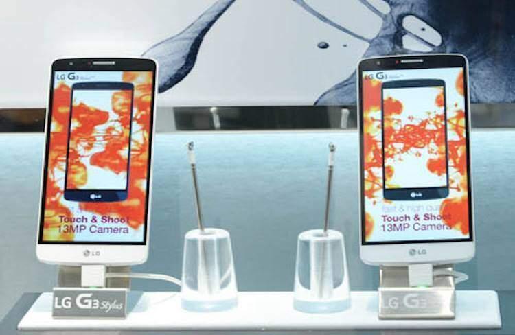 LG G4 Stylus è in dirittura di arrivo?