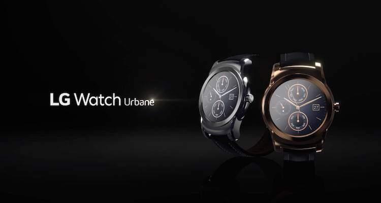 Screenshot del video promozionale di LG dedicato al nuovo smartwatch Watch Urbane