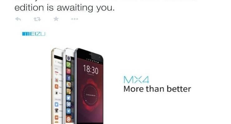 Meizu MX4: variante Ubuntu Phone verrà presentata all'MWC!