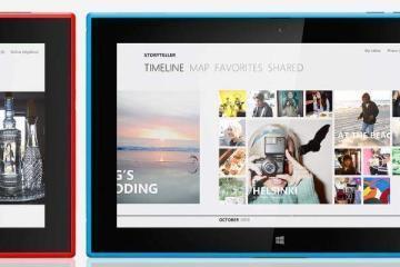 Immagine di presentazione del Nokia Lumia 2520