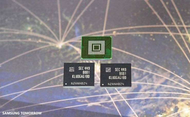 Samsung: annunciate nuove memorie flash 2.0 da 128 GB per Smartphone!