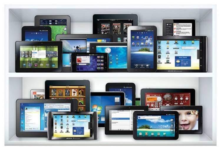 Il mercato dei tablet è in calo rispetto agli anni precedenti