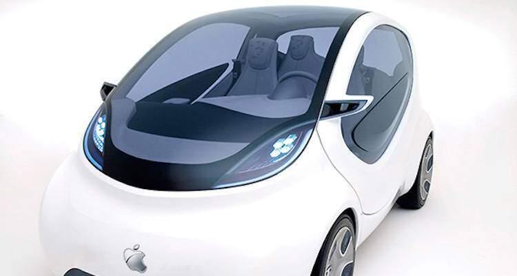 Immagine che mostra il presunto modello di automobile Apple