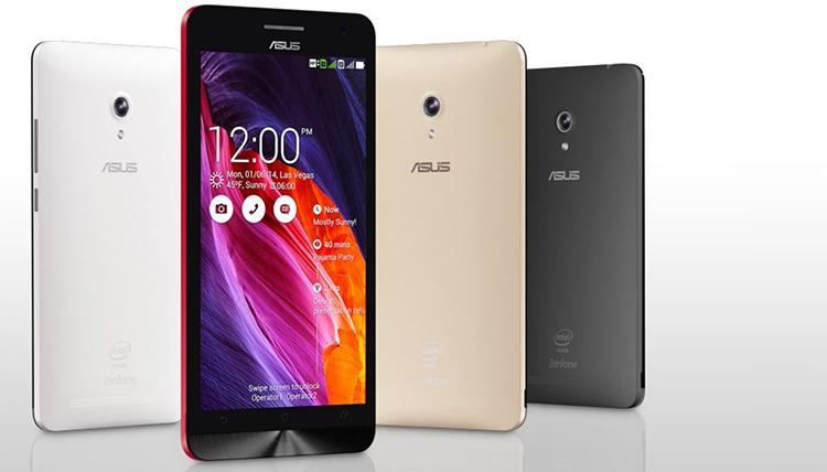 ASUS: Android Lollipop sugli Zenfone 4, 5 e 6 e su PadFone S