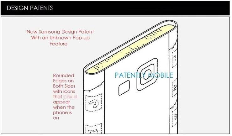 Samsung Galaxy S6 Edge: nuovo brevetto potrebbe averlo mostrato!