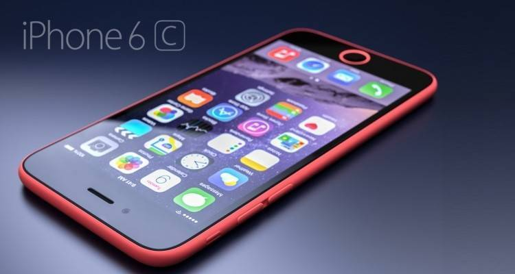 Render di iPhone 6C