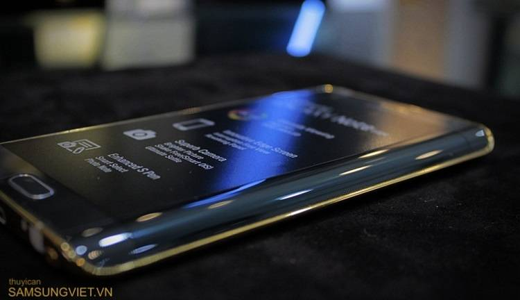 Galaxy Note Edge: ecco la variante con finitura in oro 24k