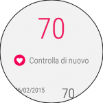 Google Fit: battito cardiaco
