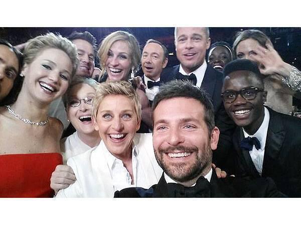 Selfie Oscar 2014