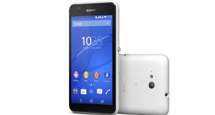 Prima immagine di Sony Xperia E4g
