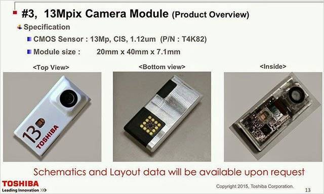 Progetto Ara: Toshiba mostra i primi moduli per fotocamera!