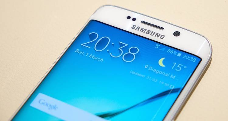 Samsung Galaxy S6 e Edge, il test del display di Anandtech