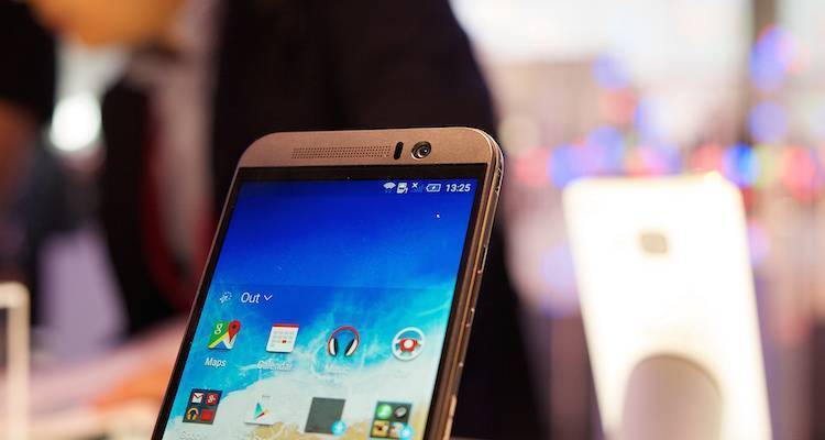 HTC One M9 Plus, online la press shot