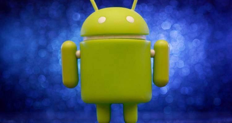 Immagine che mostra la mascotte di Android