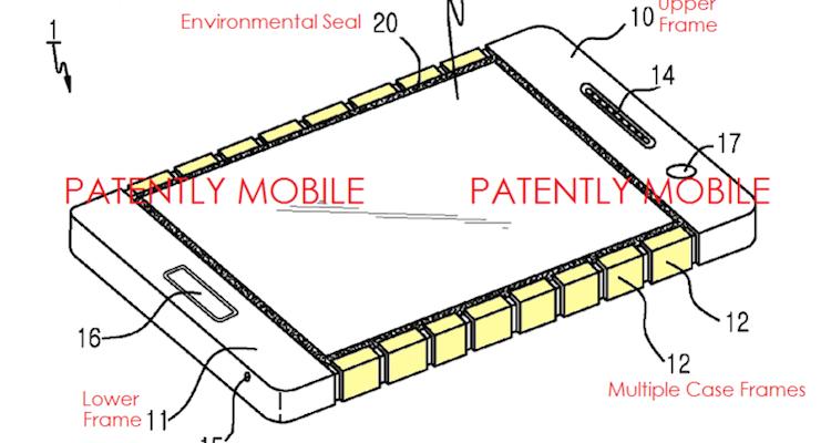 Samsung brevetta una scocca flessibile