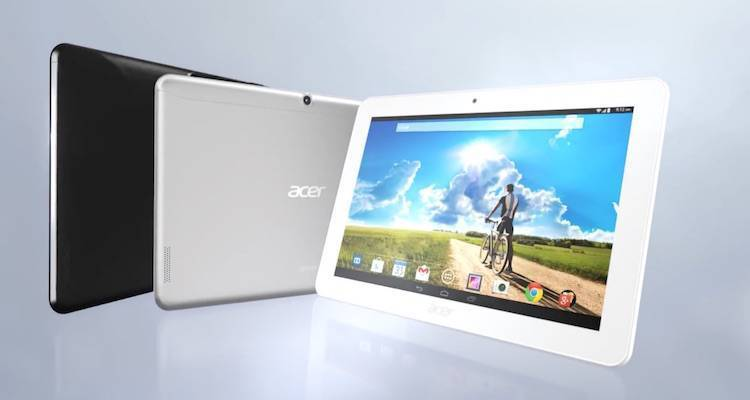 Tablet Android, Acer annuncia Iconia Tab 10
