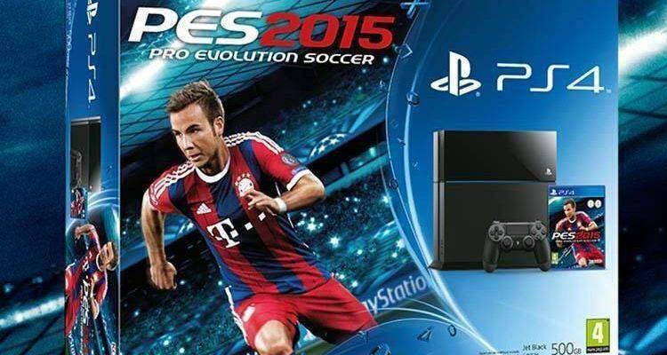 Playstation 4 + PES 2015.