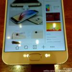 Foto che mostra la parte anteriore dello smartphone Meizu MX Supreme