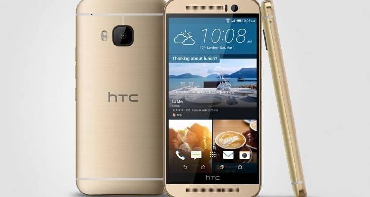 HTC One M9 immagine promozionale