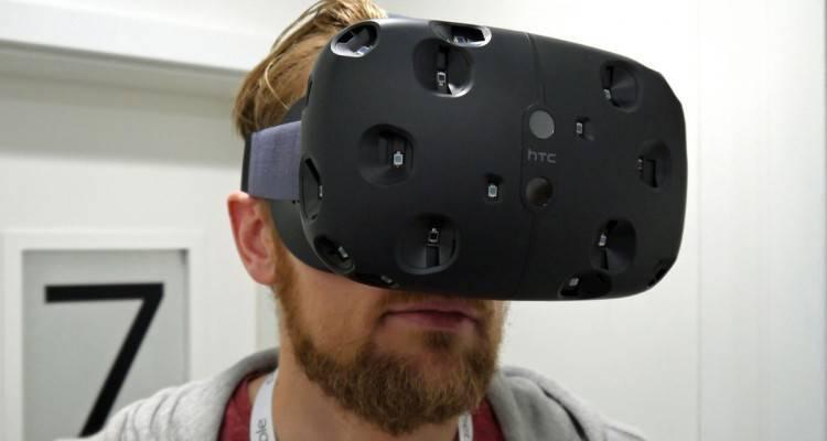 HTC Vive debutterà con 50 giochi per la realtà virtuale