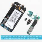 Foto del teardown del Samsung Galaxy S6
