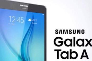 Immagine di presentazione della nuova gamma di tablet Samsung Galaxy Tab A