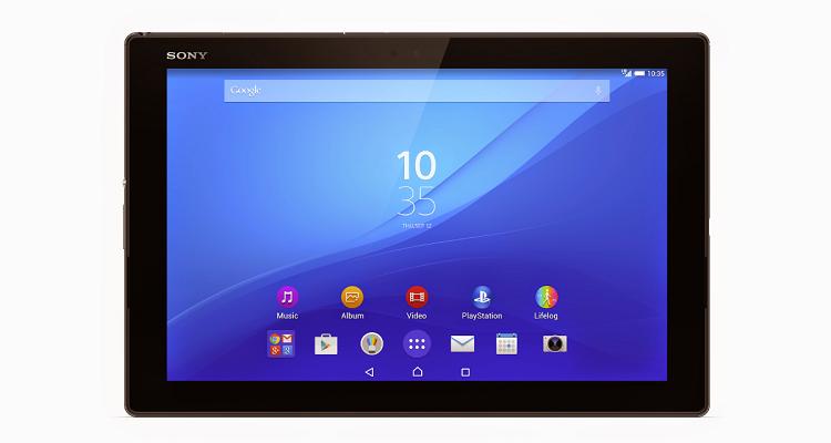 Prima immagine di Sony Xperia Z4 Tablet