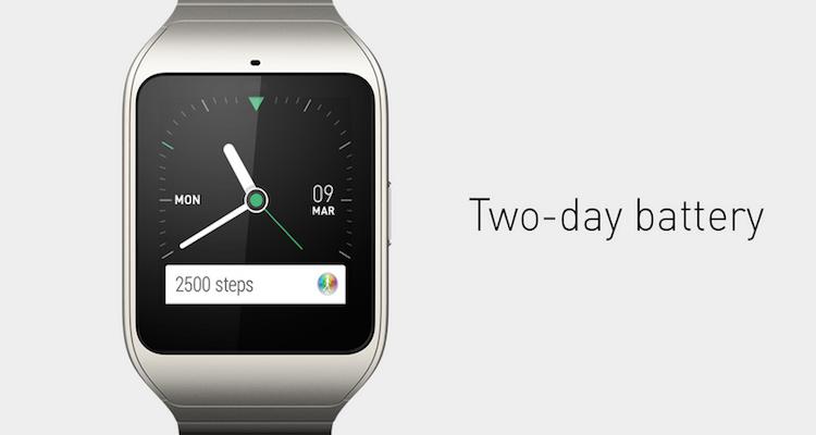 Immagine pubblicata da Sony per sbefeggiare Apple Watch con Smartwatch 3