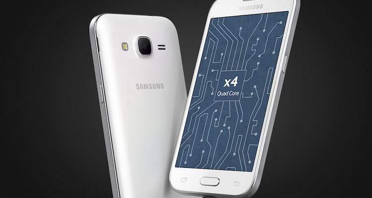 Immagine di presentazione del nuovo Samsung Galaxy Win 2