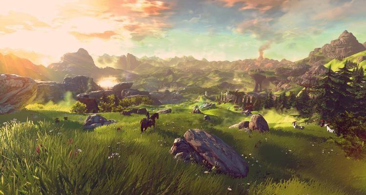 Zelda breath of the wild open world