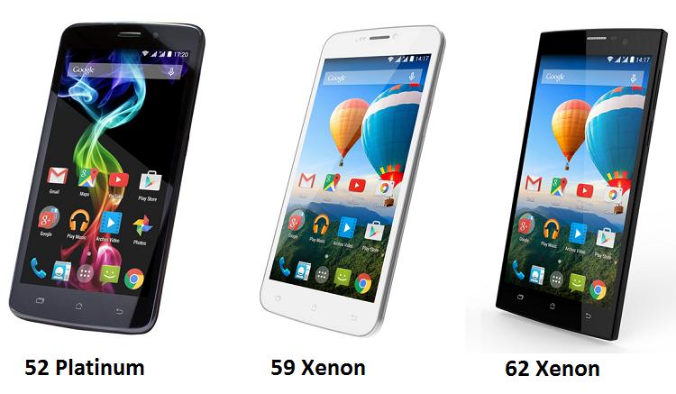 Archos al MWC 2015: quattro nuovi smartphone lowcost