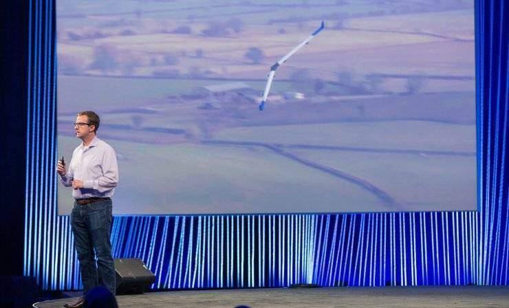Facebook: un enorme drone porta internet in cielo!