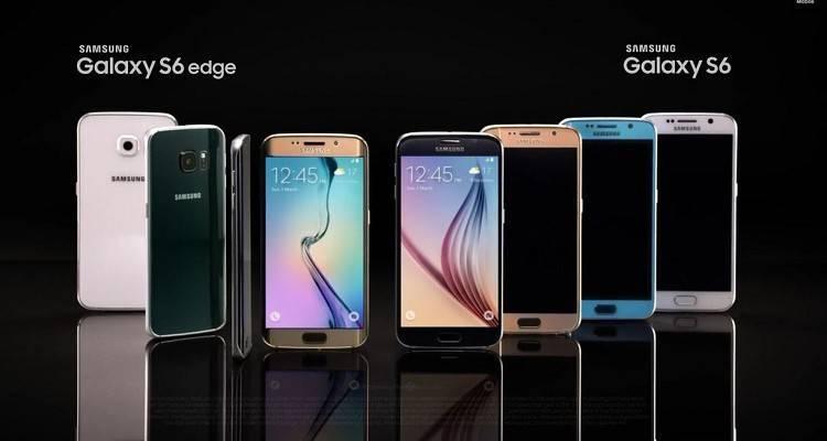 immagine promozionale del Samsung Galaxy S6 Edge