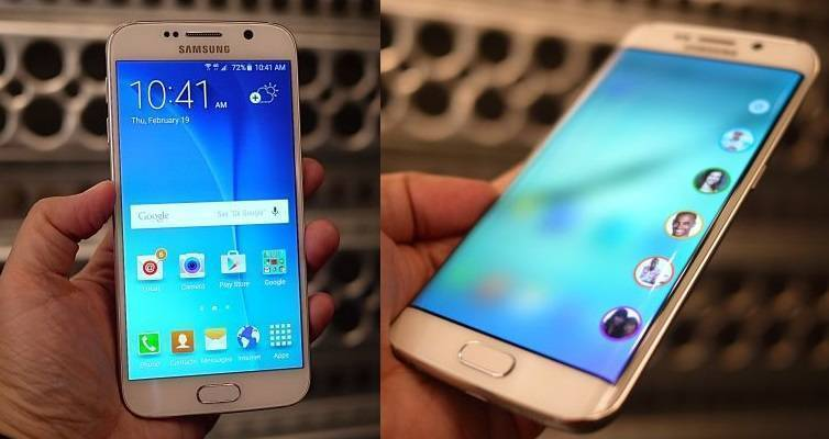 Prime immagini di Samsung Galaxy S6 e Galaxy S6 Edge