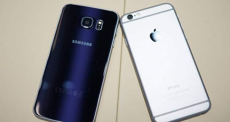 Samsung Galaxy S6 vs Apple iPhone 6: uno scontro tra titani