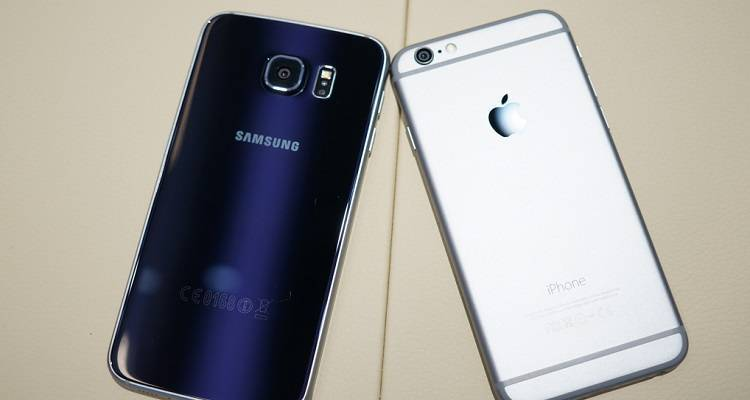 Galasy S6 vs Iphone 6