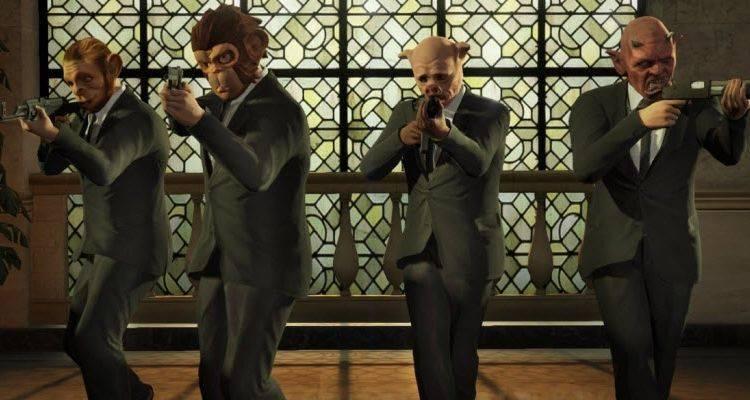 GTA 5: Heists.