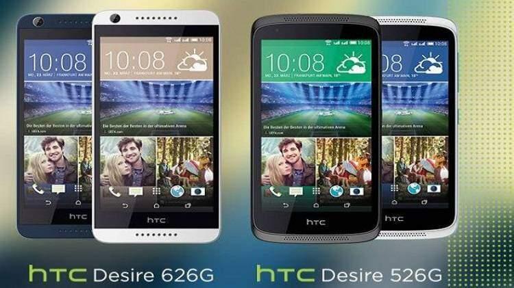 HTC Desire 626G e Desire 526G arrivano in Europa
