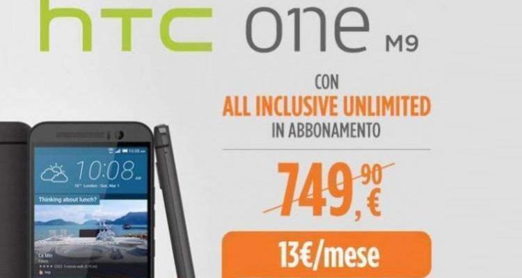 HTC One M9 arriva in Italia con esclusiva Wind